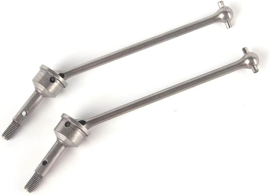 LCX 1//7th RC Crawler Car Stainless Steel Front Axle Drive Shaft CVD Compatible with RC Car TRAXXAS UDR Unlimited Desert Race