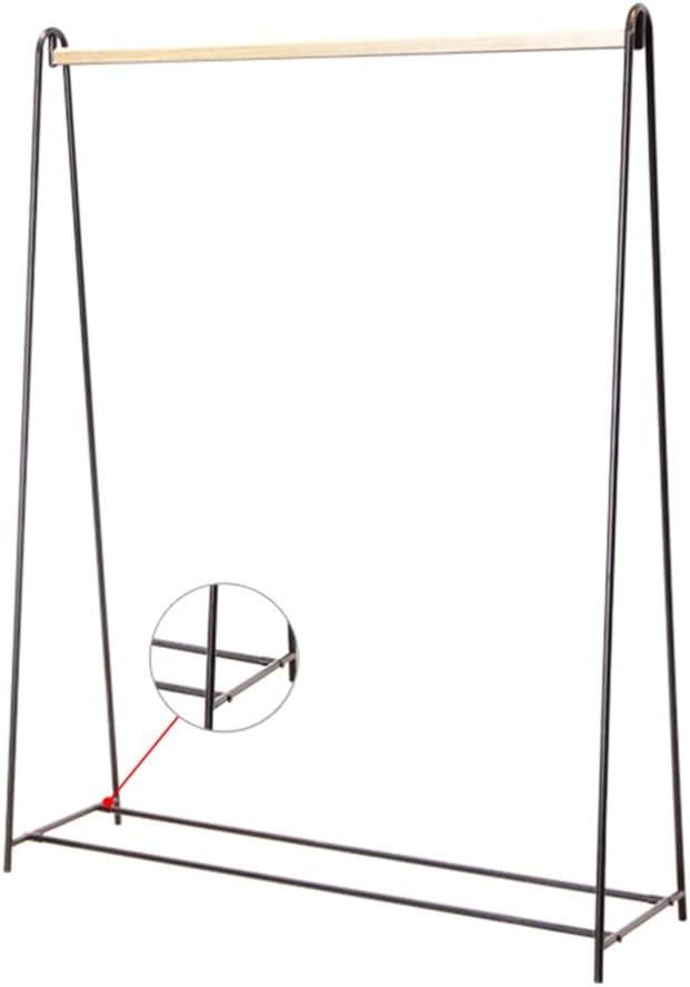JIAYING Cintres porte-manteaux Rack vêtements en métal, Porte-au sol Rack, Porte-manteau autoportant, avec Hanging Rod, pratique et durable, for Vestibule, Hall d'entrée, Chambre, Salon