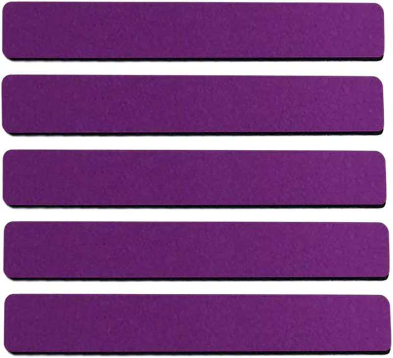 Felt Bulletin Board Cork Board Bar Strip Self-Adhesive Pin Board Bar with Push Pin for Home Office Classroom Display Message Frame-Less Cork Board Tiles for Wall Decor (Purple)