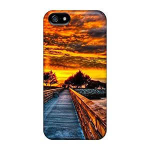 Ideal Super Stylish Case Cover For Iphone 5/5s(towards The Future), Protective Stylish Case