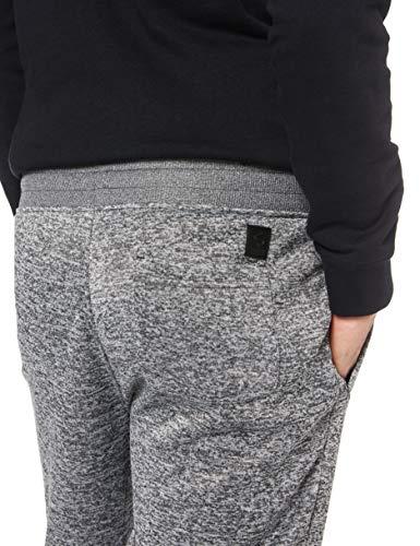 Southpole Men's Basic Fleece Marled Jogger Pant-Reg and Big & Tall Sizes, Grey, X-Large