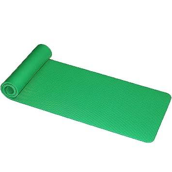 HYTGFR Las esteras Antideslizantes de Yoga 15Mm para Equipos ...