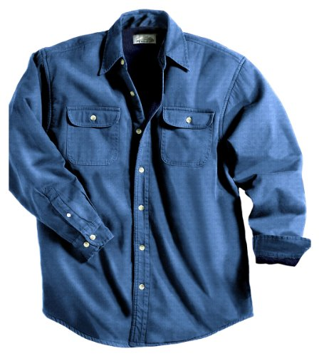 Tri-Mountain Men's 8 oz 100% Cotton Denim Stonewashed Jacket,Medium Indigo,XL (Denim Jacket Stonewashed)