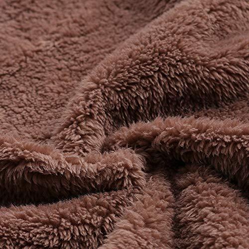 e calde Polp Bottone Stampe più abbigliamento Cotone Cappotto tasche larghe 7 spessa stampate Lino Donna anni cappuccio e Cappotti con Cappuccio Capispalla Inverno Cappuccio 8zRq80r