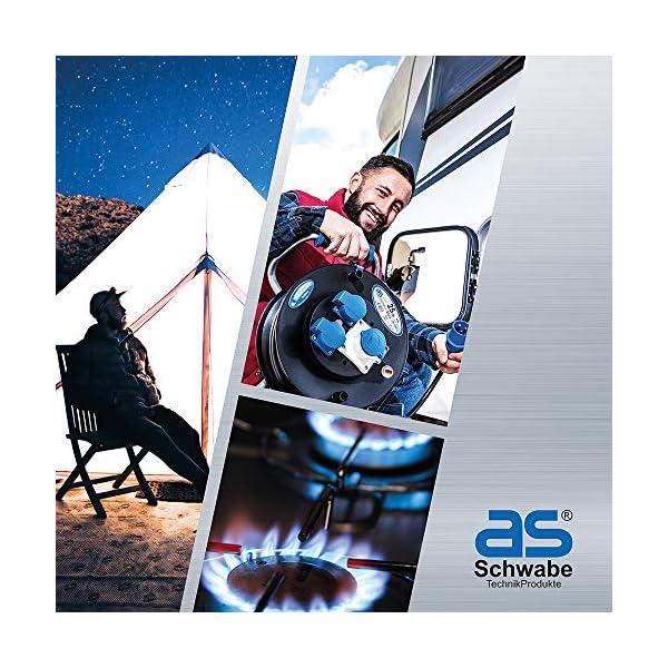 51RT%2BtHc2CL as - Schwabe CEE-Caravan-Einspeisungsstecker – 230 V / 16 A Outdoor Anbau-Stecker mit Klappdeckel – 3-poliger Stecker…