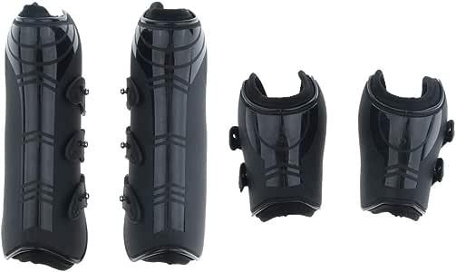 4pcs Soft Equestrian Horse Wraps Horse Leg Protection Guard Gear 240x11cm