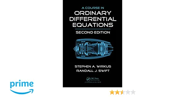Course In Ordinary Differential Equations Swift Pdf