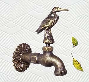 Solid Brass Egret Garden Faucet - PA71