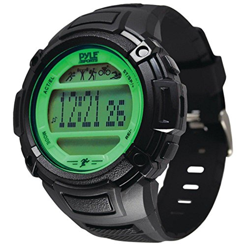 PYLE-SPORTS PAST44GN Multifunction Activity Watch (Green)...