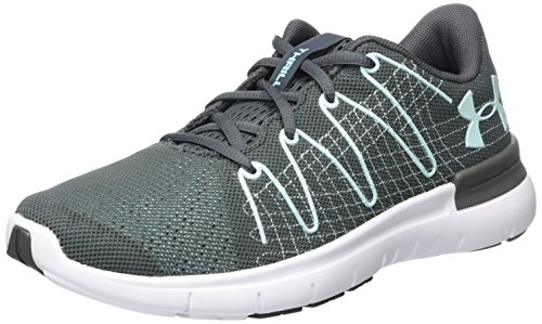 UA Under Armour W Damen Laufschuhe Thrill 3 Rhino Gray Grau qq6vEH