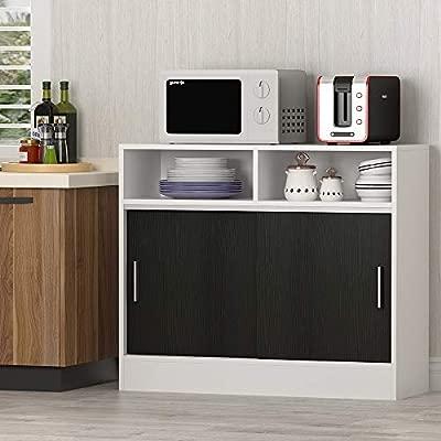 Tribesigns - Mueble de Cocina con Soporte para microondas ...