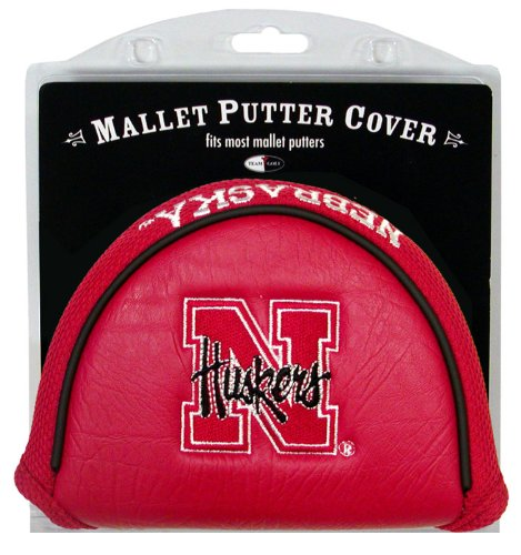 (Team Golf NCAA Nebraska Cornhuskers Golf Club Mallet Putter Headcover, Fits Most Mallet Putters, Scotty Cameron, Daddy Long Legs, Taylormade, Odyssey, Titleist, Ping, Callaway )