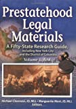Prestatehood Legal Materials, Michael G. Chiorazzi and Marguerite Most, 0789020823