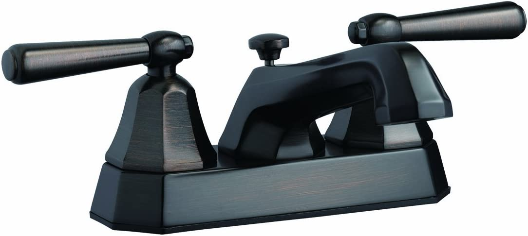 Design House 525584 Barcelona 4-Inch Lavatory Faucet, Brushed Bronze