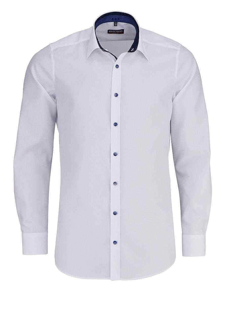 Marvelis - Camisa Casual - Liso - para Hombre