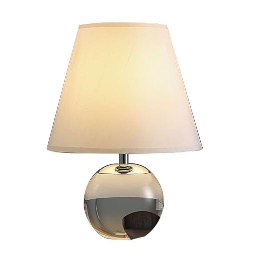 GYH Lámparas de Escritorio Lámpara de Mesa de Cristal Lámpara de ...