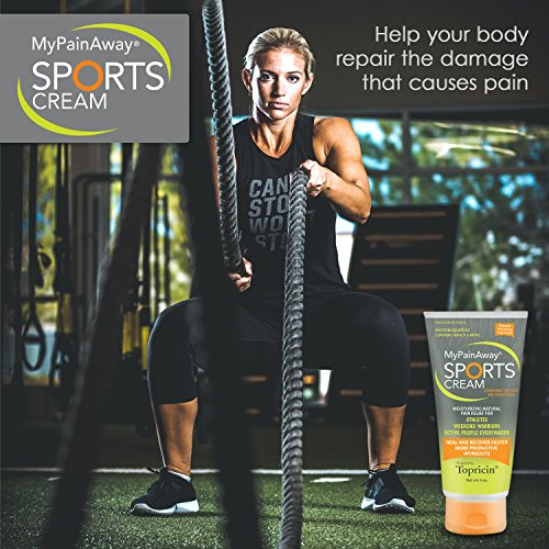MyPainAway Sports Pain Relief Cream 6 Oz