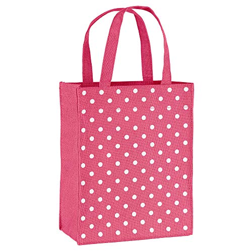 (Illumen Fabric Gift Bags and Reusable Gift Bags, Free Greeting Cards, 2 Pack, Handmade, Eco Friendly Tote Bags, 11 Patterns, Medium Size (7.75 x 9.5 x 3.75 inches) )