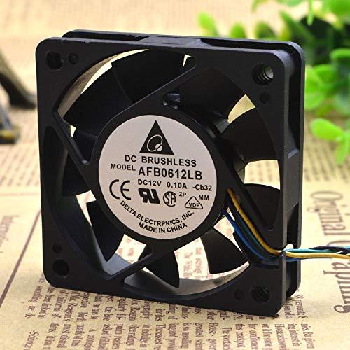 REFIT in 6015 6 cm AFB0612LB 12 v 0.10 A 4 Wire PWM Control CPU Mute A Cooling Fan