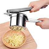 Potato Ricer&Masher | ChefBox Premium Anti-Rust 18/10 Stainless Steel, Heavy-duty Pumpkin Masher, Baby Food Strainer