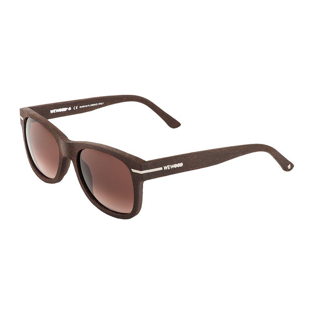 WeWOOD Crux Cotton Sunglass Eyewear - Brown SI, 12072 Purple Double Gradient - (902180108)