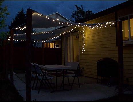 Velas de sombra Sombrilla Rectangular con Luces LED 3x2M, 98% Tela UV para toldos, toldos y toldos, Bloqueador UV para Patio, balcón y jardín - Negro (tamaño Personalizable): Amazon.es: Deportes y aire