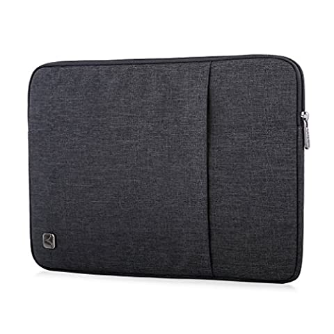 CAISON Laptop Sleeve Case Water-Resistant Protective Pouch Bag For 2017 New 12