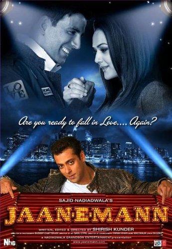 Jaan-e-mann(Bollywood Movie / Indian Cinema / Salman Khan / Akshay Kumar / Preity Zinta / DVD) (Jaan E Mann)