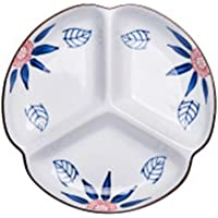 Happiness Tableware LIXUE Pepinillo Snack-Splitter Home Plate Creativas