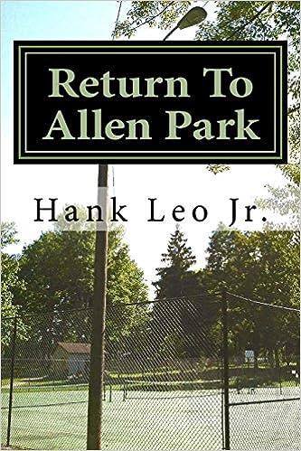 Book Return To Allen Park