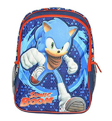 3247bbb2bb4a5 Backpack - Sonic - Sonic Boom Boys Large School Bag New 138992 ...