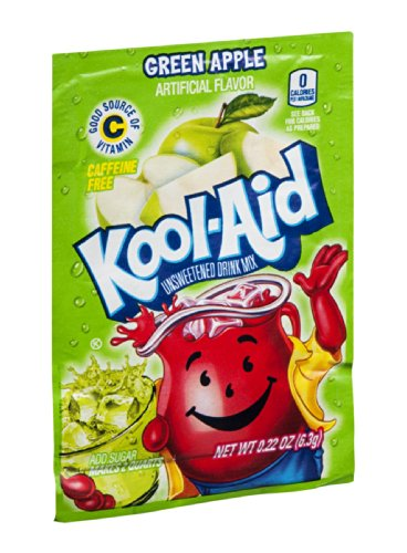 Kool-Aid Drink Mix Green Apple 2 QT (Pack of 192) by Kool-Aid