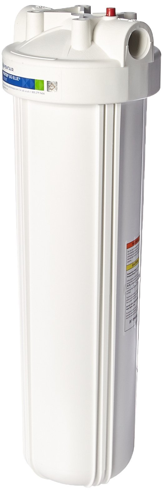 Big White 20-inch x 4.5-inch Filter Housing 1 Inch FPT - 166142 by Pentek