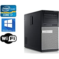Dell Optiplex 9010 Desktop- Intel i7 3.1GHz , 1TB HDD, 8GB DDR3, Windows 10 Professional 64-bit, WiFi (Certified Refurbished)