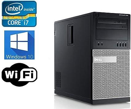 Dell 9010 4K Desktop Tower Computer, Intel Core i7 Upto 3 4