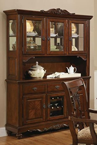 Amazoncom Coaster Home Furnishings 103514h Traditional Hutch