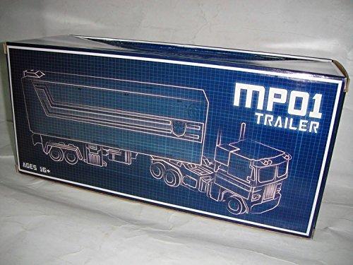 01 Optimus Prime - TF Silver Trailer with Roller & Gun for MP-01 Optimus Prime