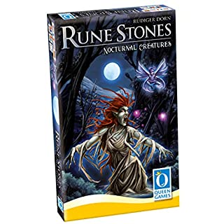 Queen Games 20262 Rune Stones Creatures of The Night (Expansion 1)