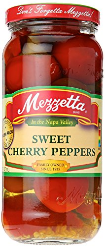 Mezzetta Sweet Cherry Pepper, 16 oz Cherry Pickles