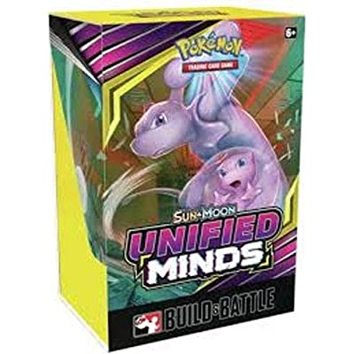 Pokemon TCG: Sun and Moon Unified Minds Build and Battle Prerelease Kit: Toys & Games