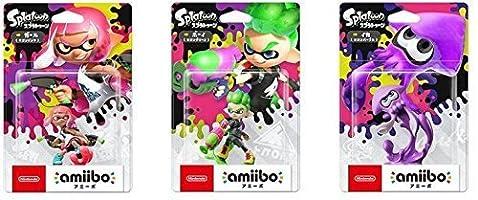 amiibo Splatoon2 Squid Boy Girl set Japan Japanese ver. Nintendo