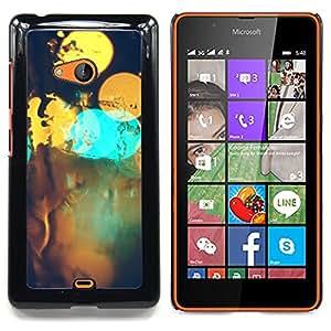 SKCASE Center / Funda Carcasa protectora - Resumen Bokeh;;;;;;;; - Nokia Lumia 540