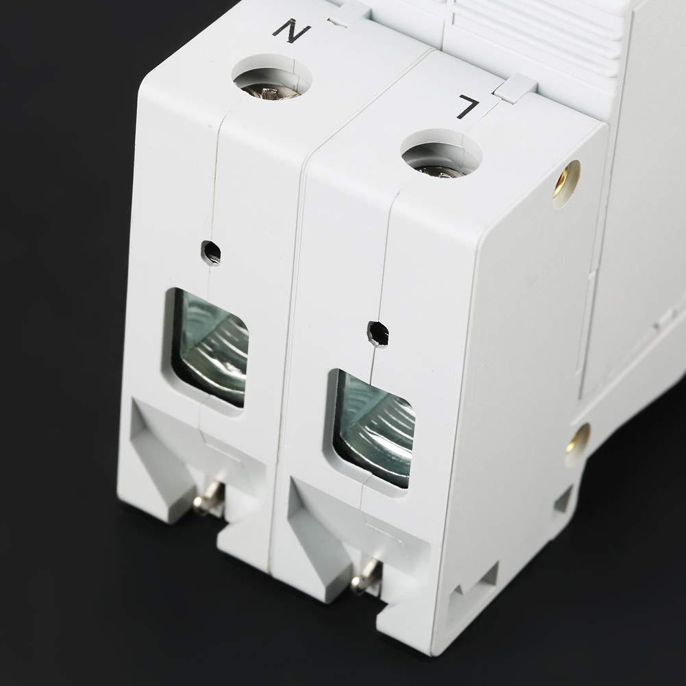 220V Surge Protection Device Low-Voltage Arrester Device for DC 420V 40KA Lightning Protection 2P 40KA Arrester Device