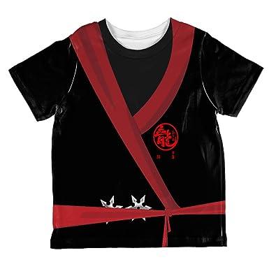 Amazon.com: Halloween Evil Shadow Ninja Costume All Over ...