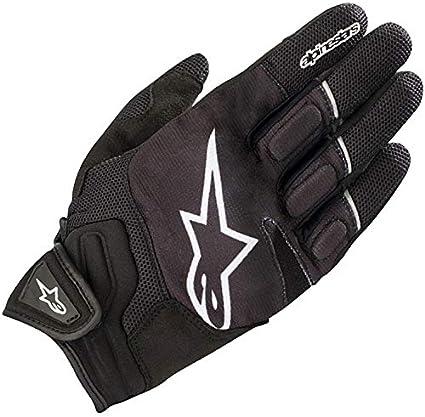 Alpinestars Gants moto Atom Gloves Black White Noir//Blanc L