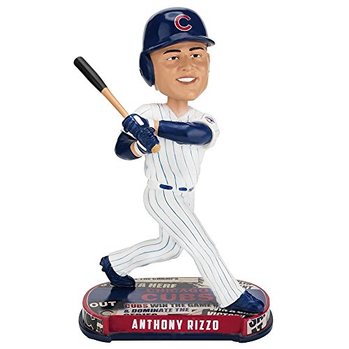Forever Collectibles Anthony Rizzo Chicago Cubs Headline Limited Edition Bobblehead