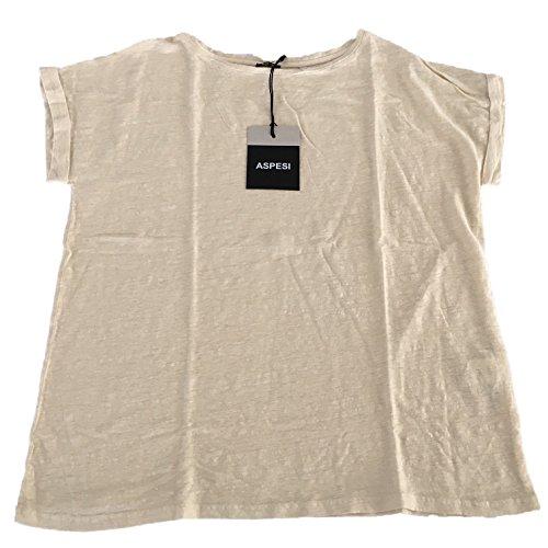 ASPESI maglia donna BEIGE mod Z322 100% lino vestibilita over