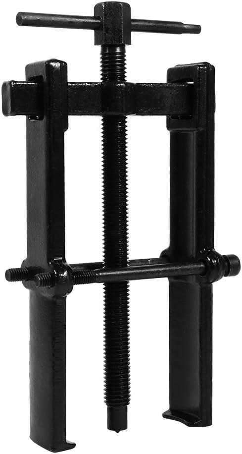 Ejoyous 70 x 120 mm Extracteur de Roulement 8 Pouces Stable Multifonctionnel Extracteur Dextracteur Dengrenage de Roulement /à 2 M/âchoires pour Voiture Moto Auto Noir