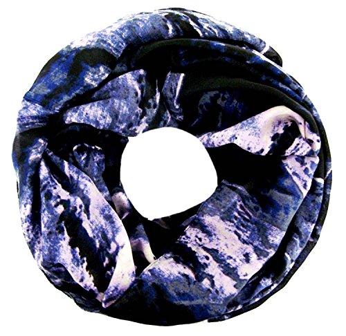 Accessu mujer 4211294008 azul talla bufanda CqC1Tf