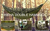 Hieha Double Camping Hammock with Mosquito Net Tree